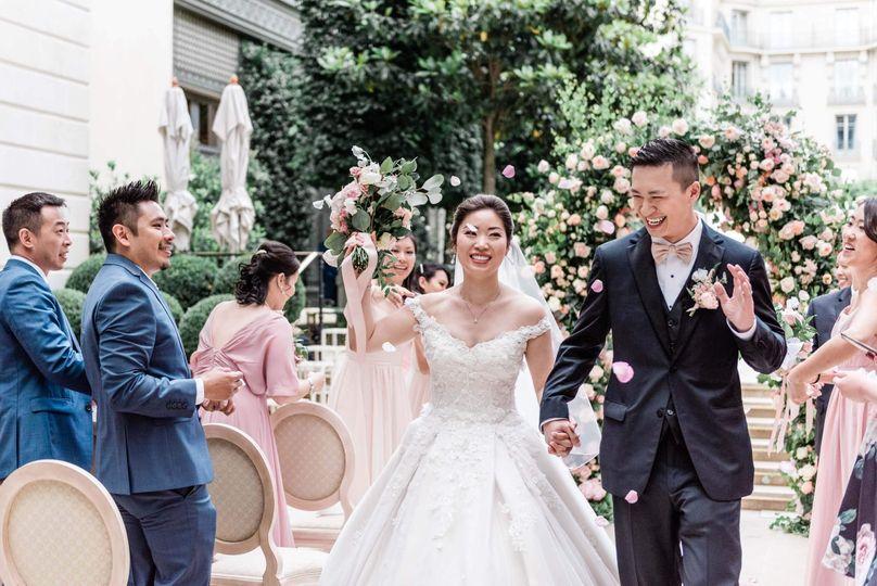 Wedding at The Ritz, Paris