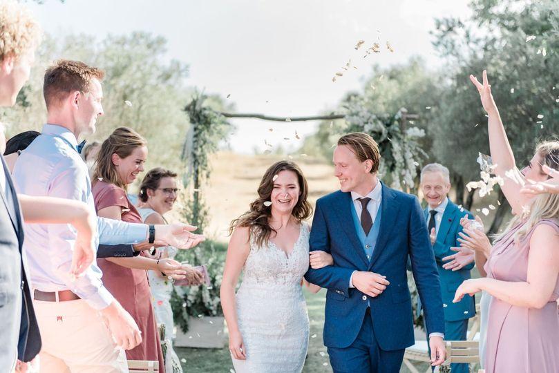 Intimate wedding in Spain