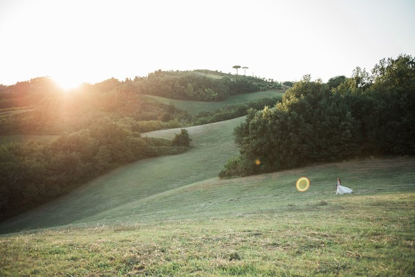 Tuscany elopement photography