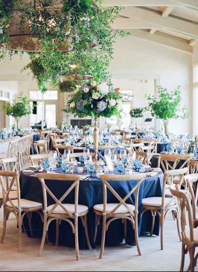 Lush Wedding Reception