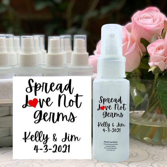Spread Love Not Germs
