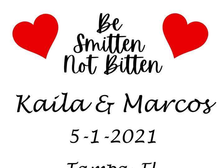 Tmx Be Smitten Not Bitten 51 1987561 162258804482751 Appleton, WI wedding favor
