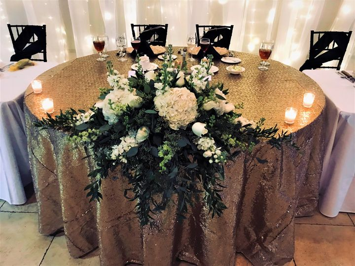 Bowtie Head Table