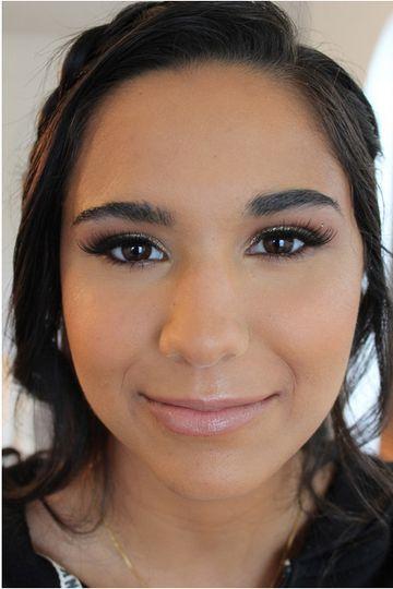 Tradtional makeup