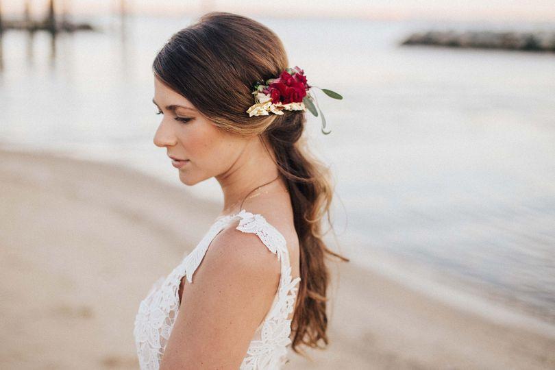 Bohemian Bridal Hair by Julie