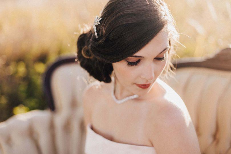 Coastal Bride Hair and Makeup by Julie