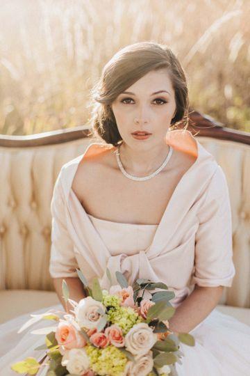 Coastal Bride Hair & Makeup by Julie