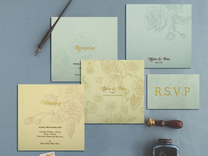 Tmx Designer Wedding Invitations 805d 51 788561 157534985665437 Iselin, NJ wedding invitation