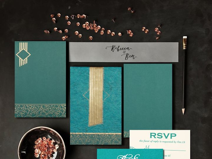 Tmx Designer Wedding Invitations 51 788561 1568632142 Iselin, NJ wedding invitation