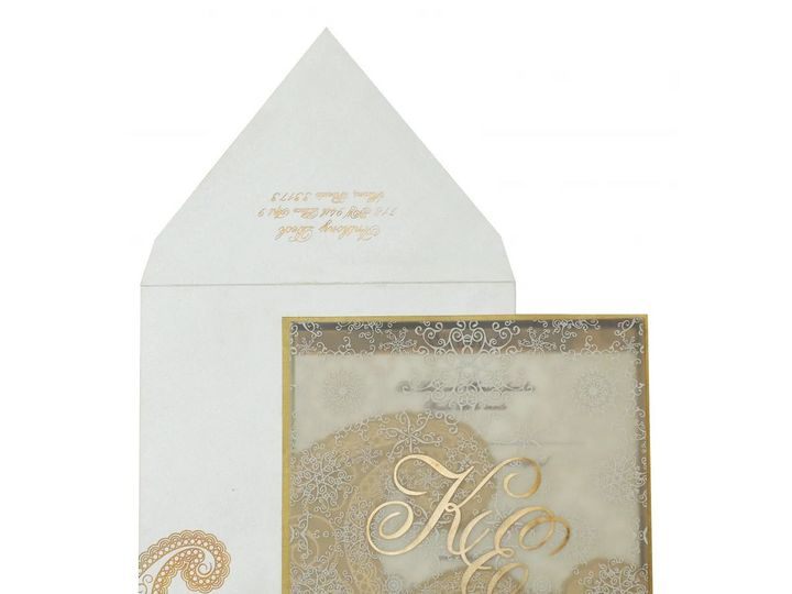 Tmx Gold Foil Wedding Invitations 51 788561 159170002019492 Iselin, NJ wedding invitation