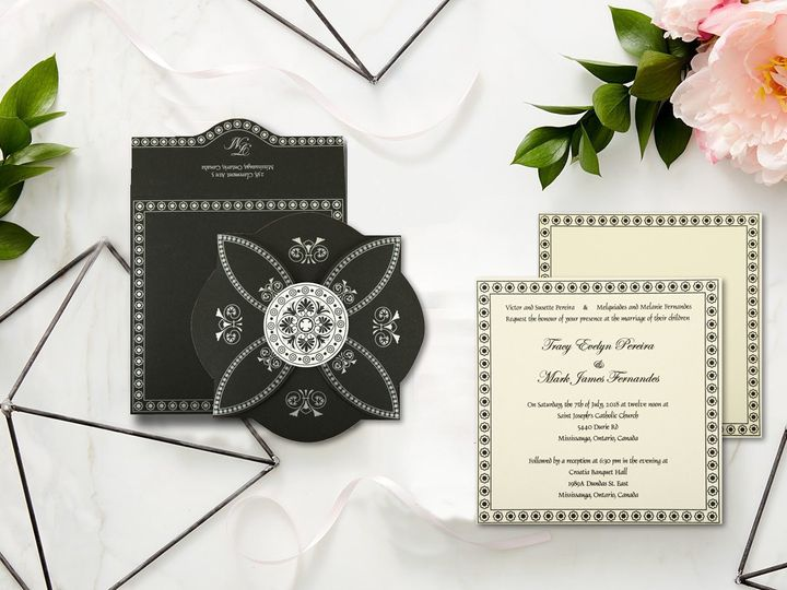 Tmx Hindu Wedding Cards 820e 51 788561 157647501940567 Iselin, NJ wedding invitation