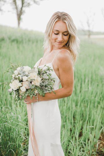 Blush + White Bouquet