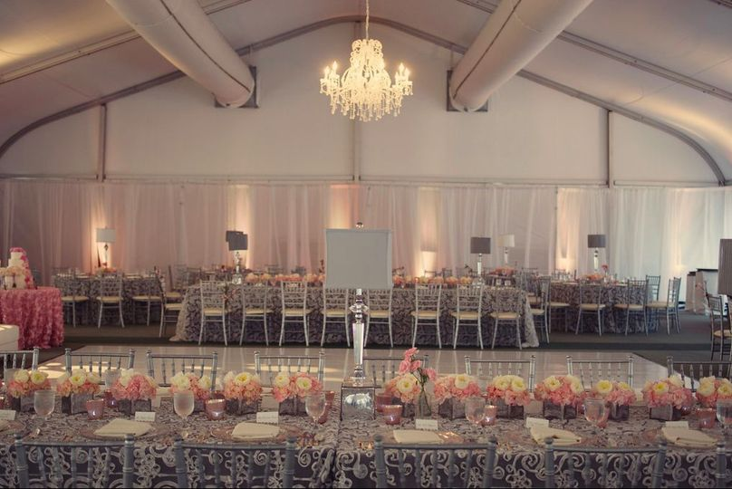Grand Marquee Tent Reception