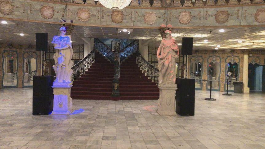 Elegant reception venue