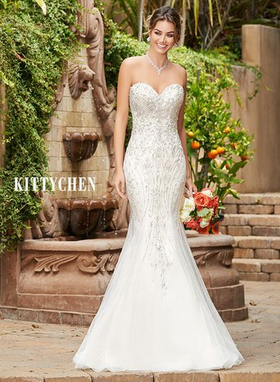 The white dress bridal photos dress attire pictures for Wedding dresses in west palm beach