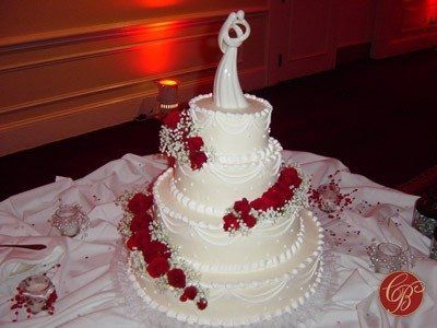 Tmx 1216274181369 WeddingDSC0369 Gaithersburg, MD wedding cake