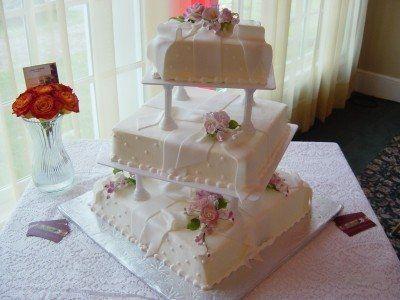 Tmx 1216274530978 WeddingDSC03833 Gaithersburg, MD wedding cake