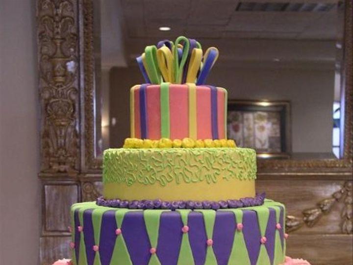 Tmx 1235429509812 Colorfulharlequin Lake Forest wedding cake