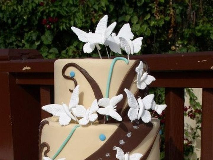 Tmx 1235429767265 P1010120 Lake Forest wedding cake