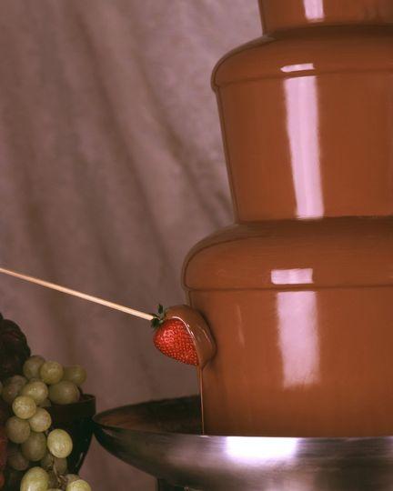 Bon Appétit Chocolate Fountain Service
