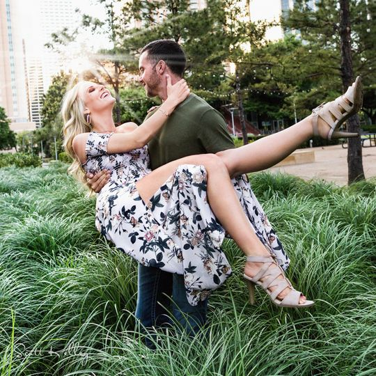 Engagement shoots are a great way to bond with your wedding photographer