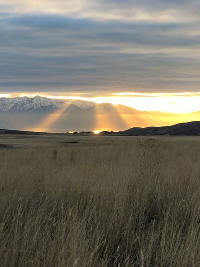 Sunset at Wasatch Wing & Clay