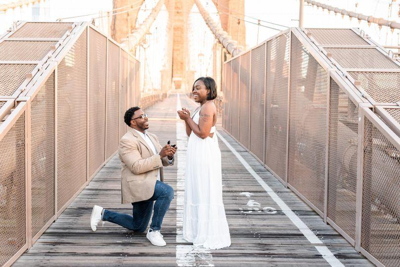 Proposal in Brooklyn