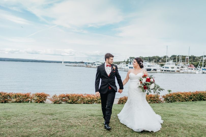 Petoskey Bride and Groom