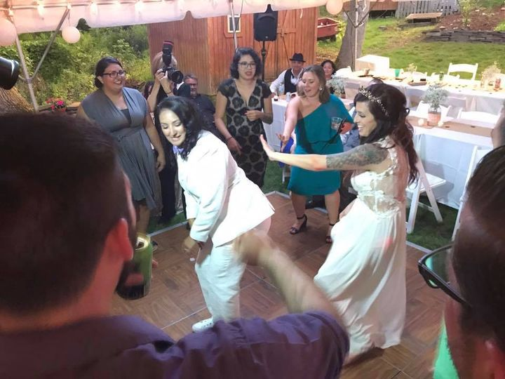 The Brides Getting Down