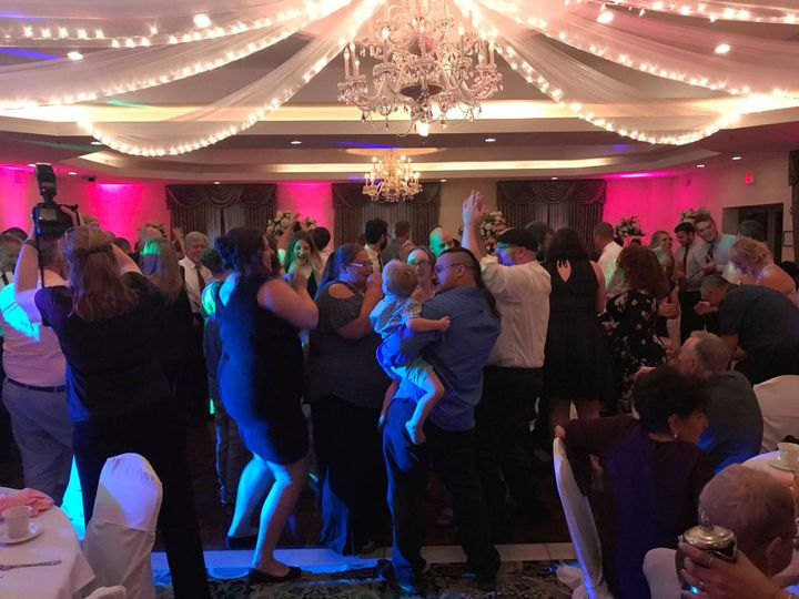 Happy dancing