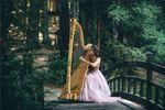 Aysha Gomez-Kureishi, Harpist   Bay Area Harp image