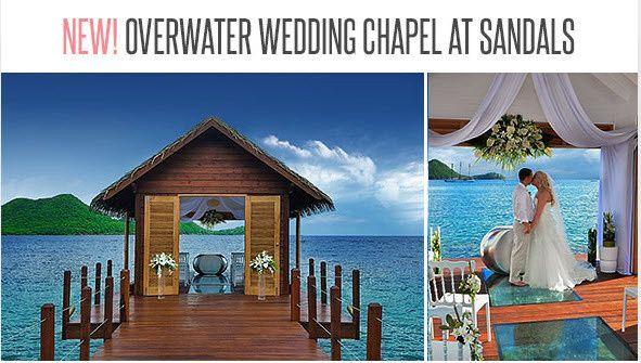 Sandals Overwater Wedding Chapel