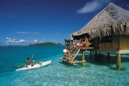 Bora Bora Honeymoon Bungalow