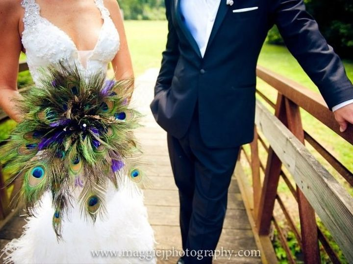 Tmx 1378757778084 Peacock Bouquet 2 Philadelphia, Pennsylvania wedding florist