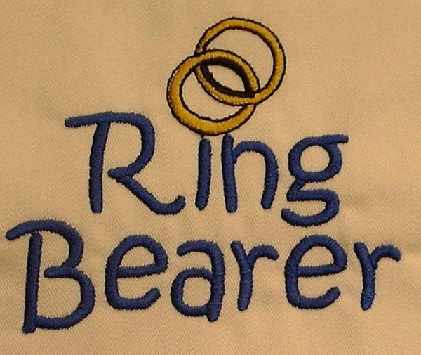 Ring Bearer for t-shirt or hoodie