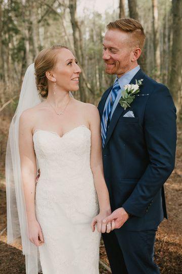 Bridal Portraits in Nature