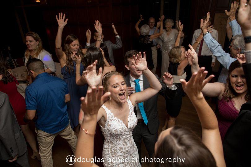 Bride's shout