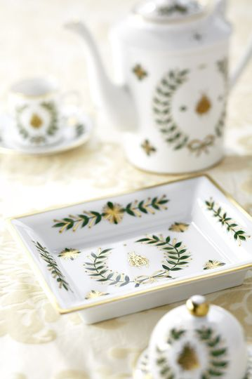French Wedding China from Laure Selignac
