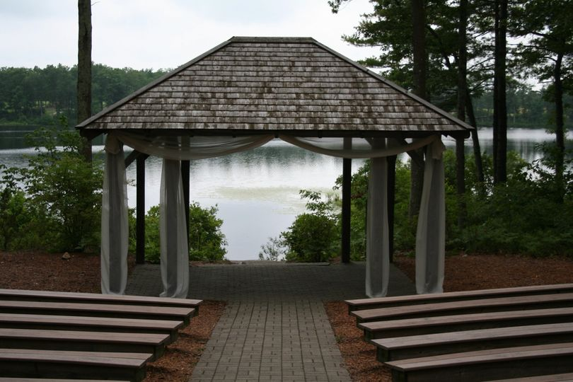 Gazebo wedding ceremony venue