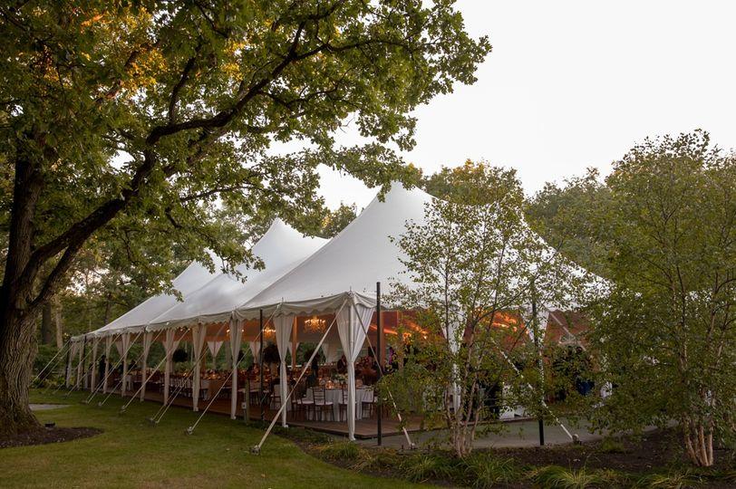 60x100 wedding tent