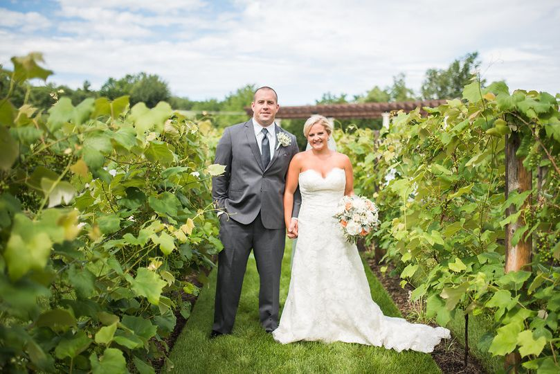 July vineyard for emily + bob!