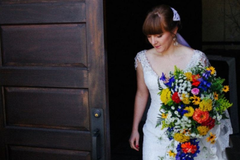 Colorful and lively bouquets