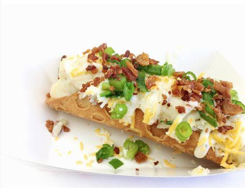 Cheddar bacon mash potato