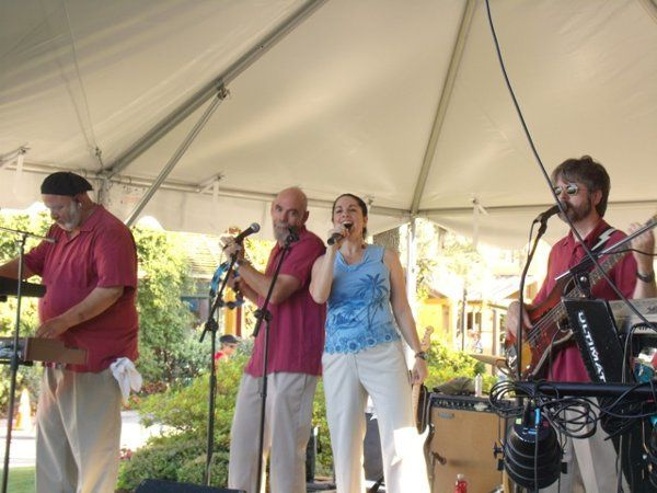 A fun Summer night show at Freshfields Village on Kiawah Island.