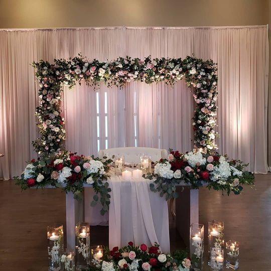 BEAUTIFUL HEAD TABLE