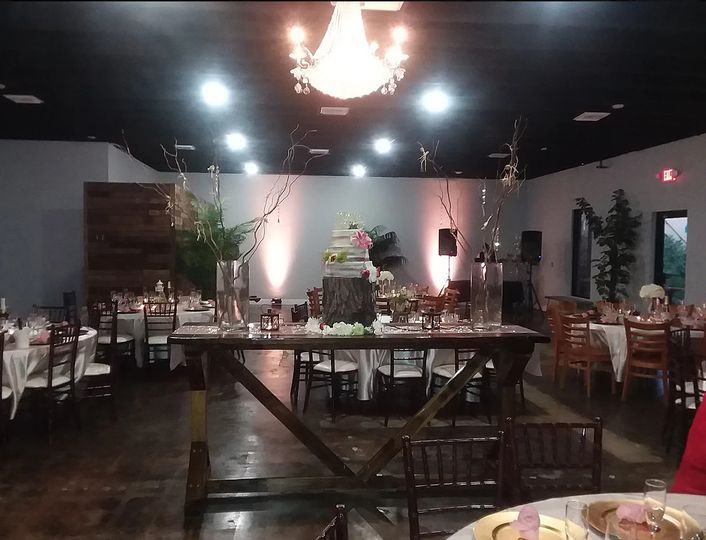 Dim reception area