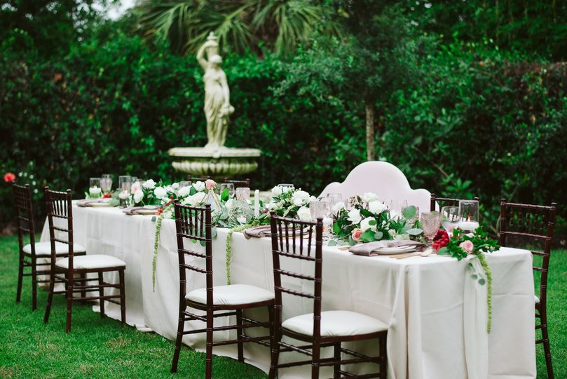 Tuscany Style Reception