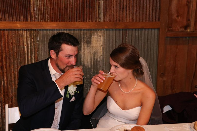Drinking couple