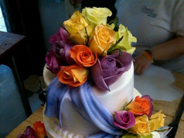 Tmx 1325723360664 Cakesbykharis32 Philadelphia wedding cake