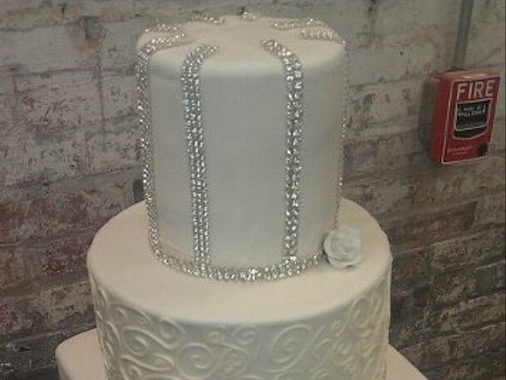 Tmx 1325723363045 Cakesbykharis34 Philadelphia wedding cake